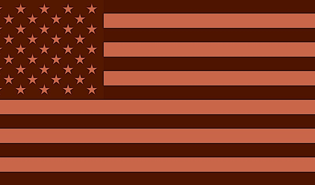 Colours for the New American flag, highlighting where we as people have come from, and where we will once agin return. #BlackLivesMatter #BLM #NFL #NBA #2020