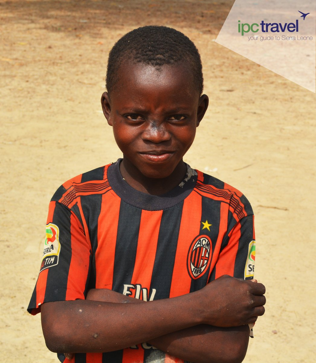 """Ambition is enthusiasm with a purpose."" - Frank Tyger This little boy believes he will become the best footballer Sierra Leone has seen and his face speaks determination and persistence #IPCTravelAgency #yourguidetosierraleone #SierraLeone #TassoIsland  #Salone #SaloneTwitter https://t.co/TILY6GUxuu"