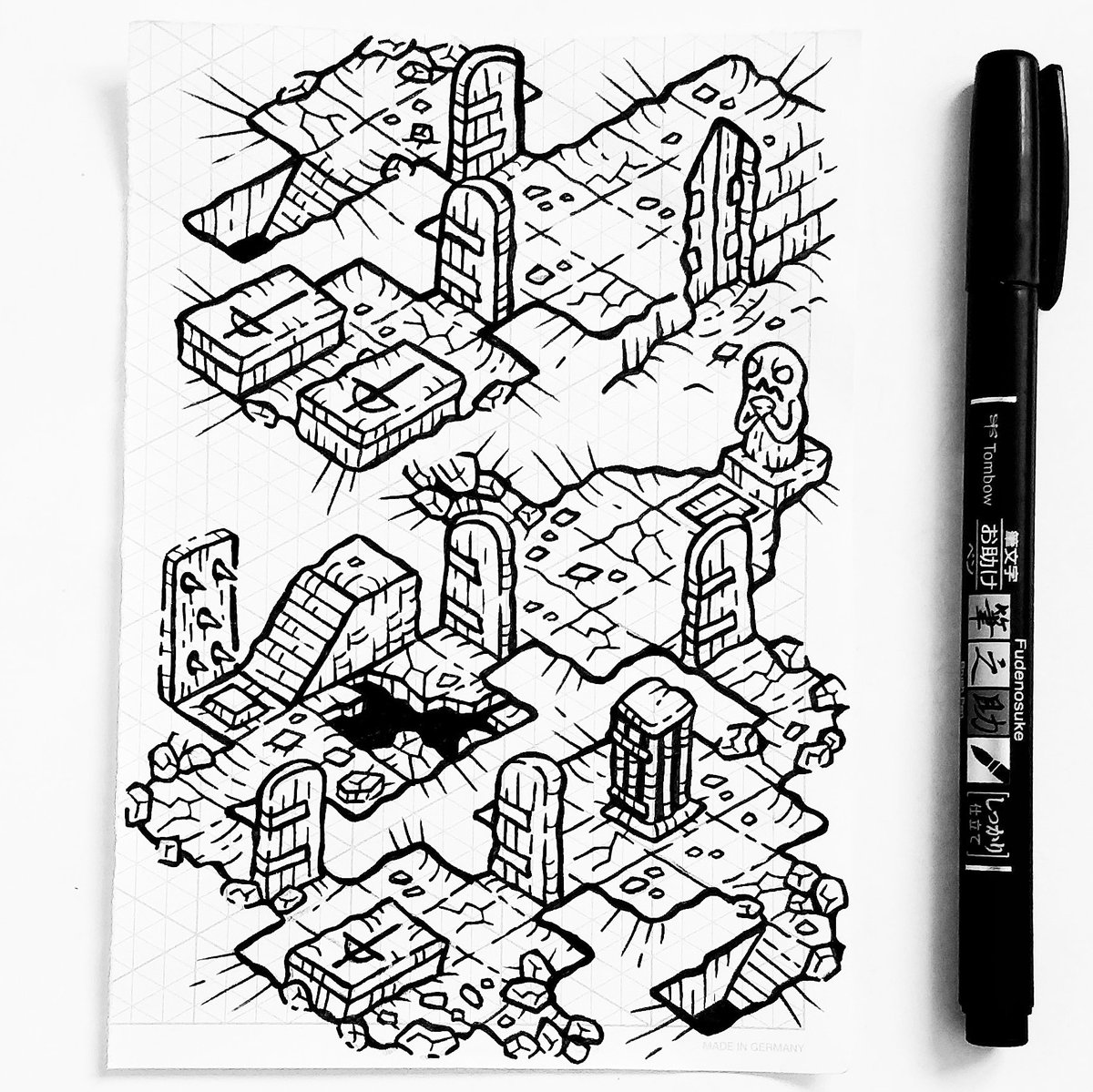 A small crypt, a little trappy! #dnd https://t.co/yYrtWBz6wQ