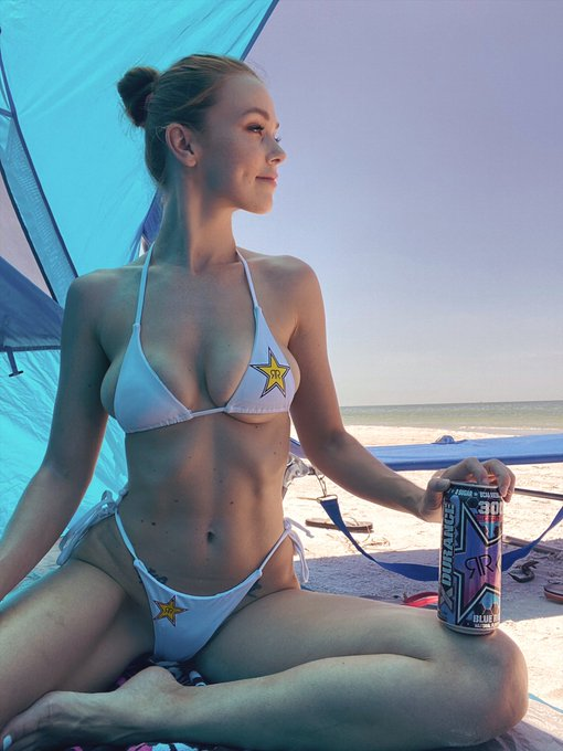 1 pic. Hey friends, hope you have a rocking Labor Day 💙💙 @rockstarenergy #rockstarenergy https://t.c
