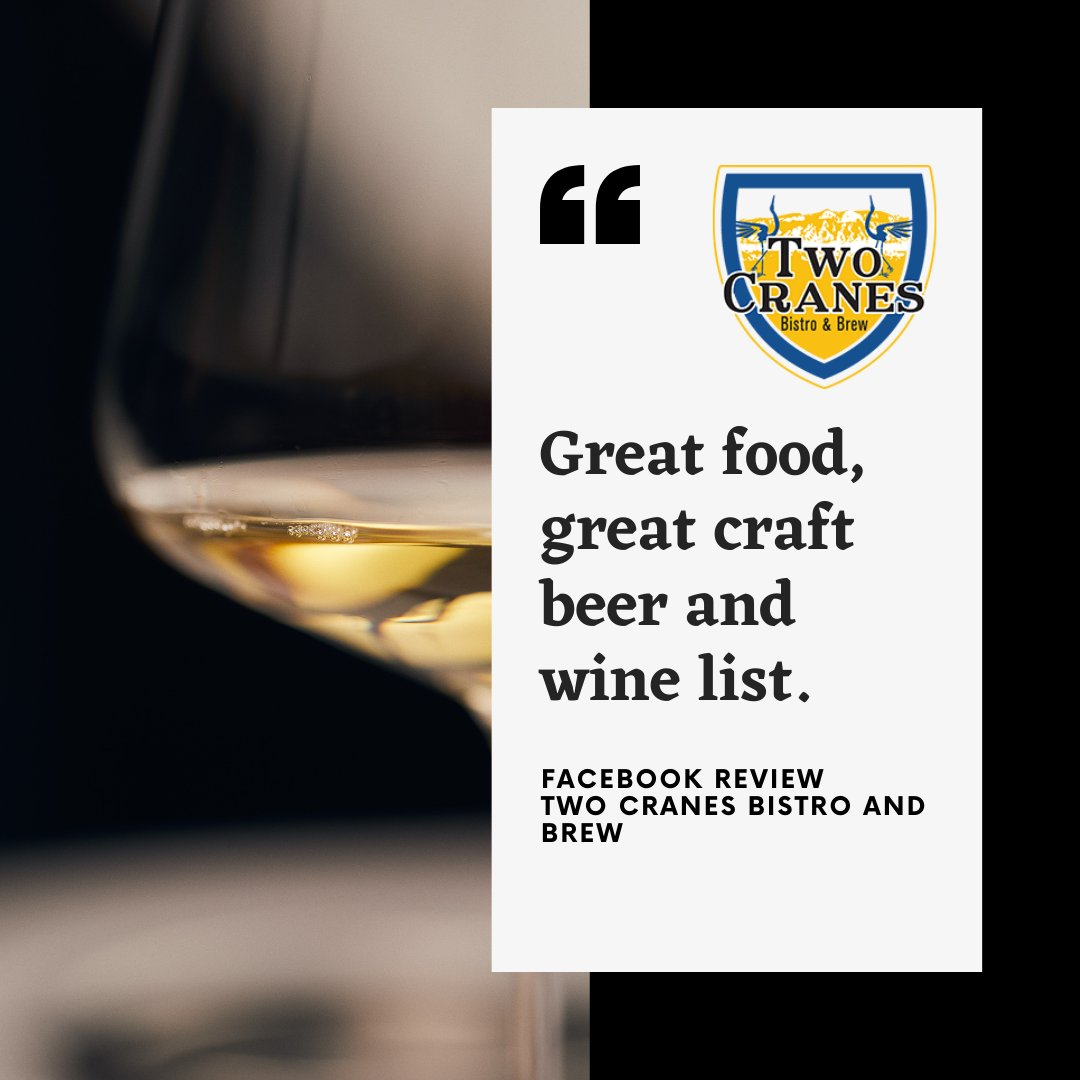 . . Are you looking for a place to grab great food and a great drink? 😍 . . . #twocranesbistroandbrew #burque #albuquerque #abqwine #abqbeer #abq #abqfoodies #abqfood #albuquerquefoodies #whatsupabq #oldtownabq #abqigersnm https://t.co/v8VOFE3UzM