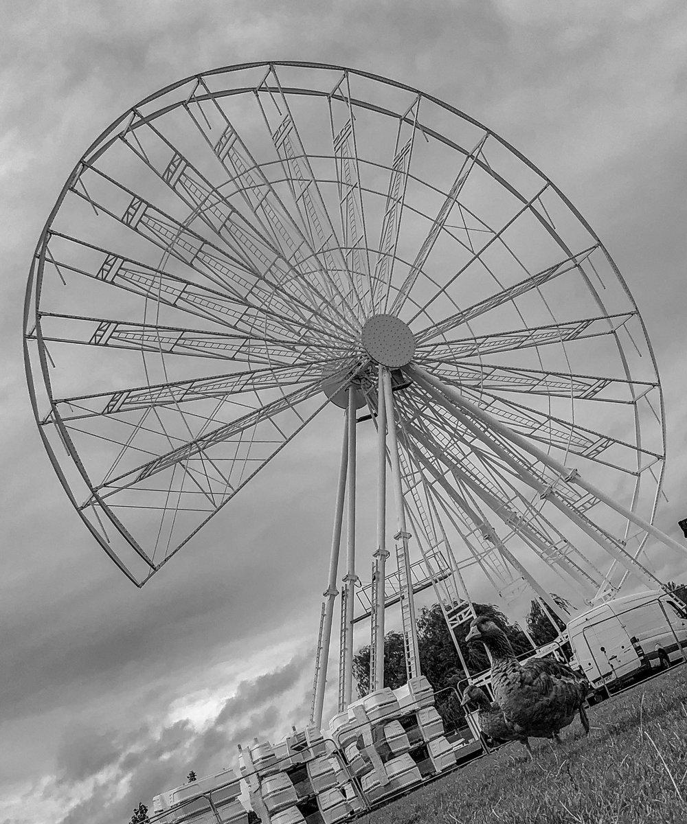 Checking out the new #WowMK observation wheel @willenlake 😊 Construction is coming along nicely! It's going to be an amazing view from the top . . . @scenesfromMK @DestinationMK @matt_goodrum @JoMcclaren @mk_citizen @mkfm @kentomkinsmcdmk @CultureMK @TheParksTrust #GooseEyeView https://t.co/gfzaS0zjrs