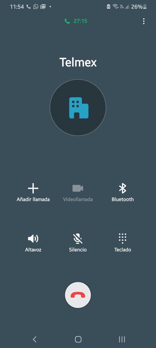 Sigo en espera .... 27 minutos para un ajuste ... veamos si algún día me solucionan @TELMEXSoluciona @Profeco https://t.co/3rk9VdfnPc