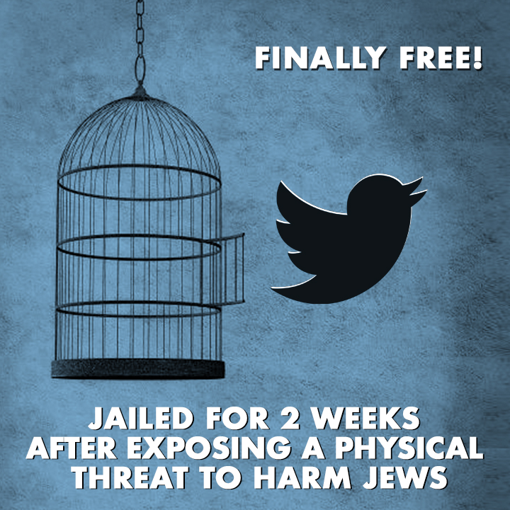 Twitter suspended our account for TWO weeks for exposing an antisemitic threat while allowing countless antisemites on their platform to continue spewing their rabid Jew hatred. We have to ask ourselves - why is #Twitter allowing this insanity?