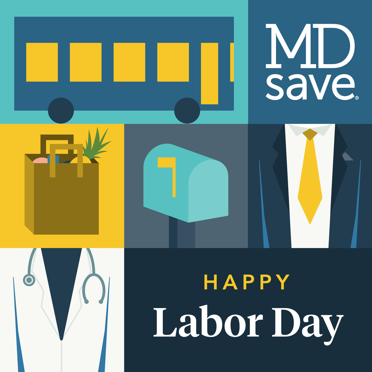 This Labor Day, we're honoring the doctors, nurses, first responders, warehouse workers, grocery store employees, delivery drivers, postal carriers, and everyone working on the frontlines of the COVID-19 outbreak. Join us by tagging an essential worker you appreciate! #laborday https://t.co/2kuveaP6PF