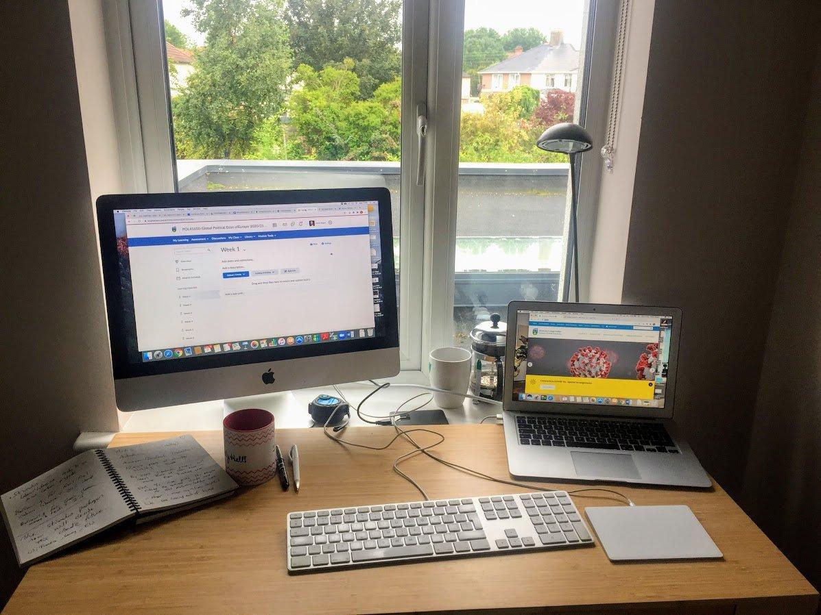 My @ucddublin virtual classroom.  Coming to you all the way from #Dublin7  #POL20180 #POL41650 https://t.co/FA3szTvi5e