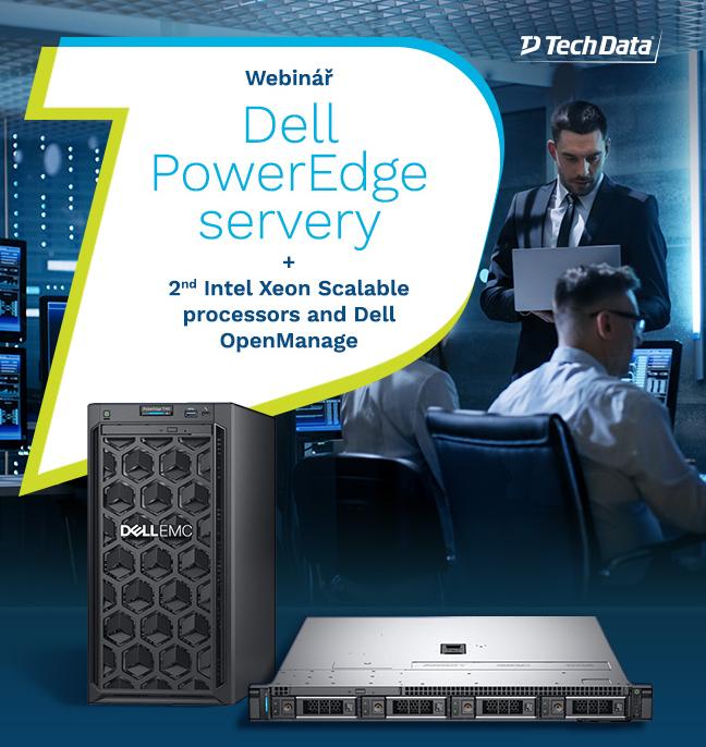 Přijměte pozvání Tech Data na webinář #Dell PowerEdge, kde vám představíme novinky v portfoliu Dell PowerEdge serveru s procesory #Intel Xeon Scalable a Dell OpenManage enterprise. Připojte se 30. září od 10 hodin. Více informací a registrace zde: https://t.co/YuXV5vkFSB https://t.co/2dDf6amJVr