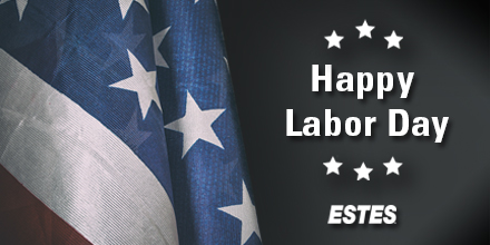 In honor of all the many contributions America's workforce has made to the strength, vitality, and endurance of our great nation, Estes wishes you a happy Labor Day! #Estes #LaborDay https://t.co/W689qH7Pj1