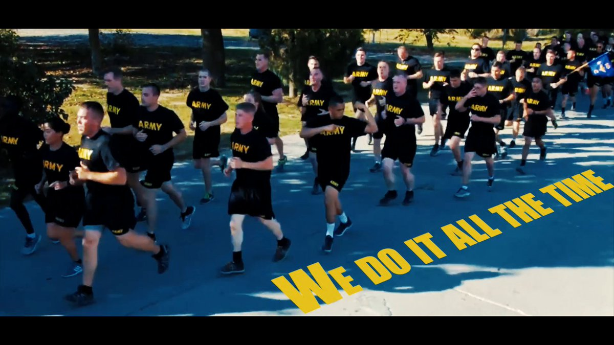 Time to get running! Its a new week, so we thought wed motivate you with one of our favorite running cadences. #ArmyFit #MondayMotivation