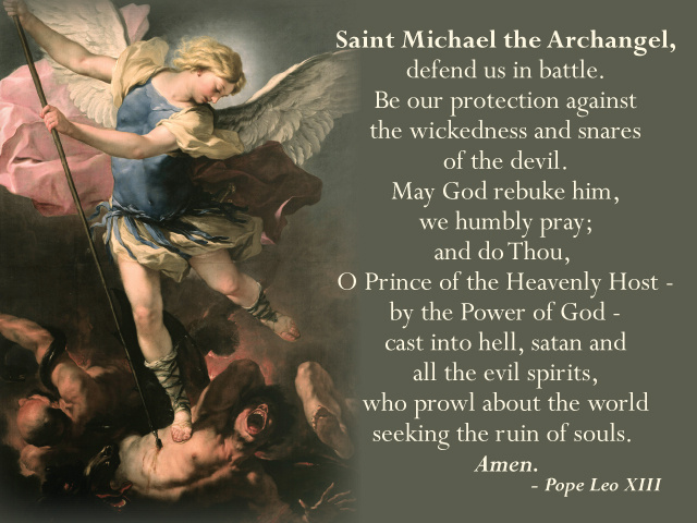 archangel michael prayer - HD 1024×790
