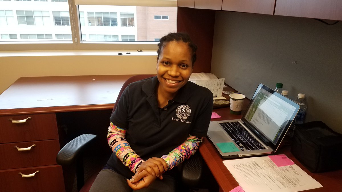 RT @usfsloanucem Sloan DC Boot Camp video featuring @SloanNetwork grantee and current @UNCNCSUBME and @uncpharmacy postdoc Edikan Archibong Ogunnaike 😀. Check link to video below #proudpl👇