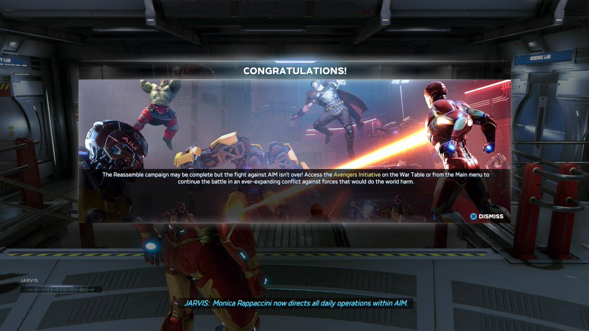 """My #LaborDay2020 weekend so far: a LOT of @PlayAvengers on my PS4! Very fun, but gets glitchy 2/3 through the main storyline (the """"campaign""""). Needs a software update to fix rendering & controller responsiveness. Still, a fabulous game! Anyone else played it? What did you think? https://t.co/YJ6jyJl1Kq"""