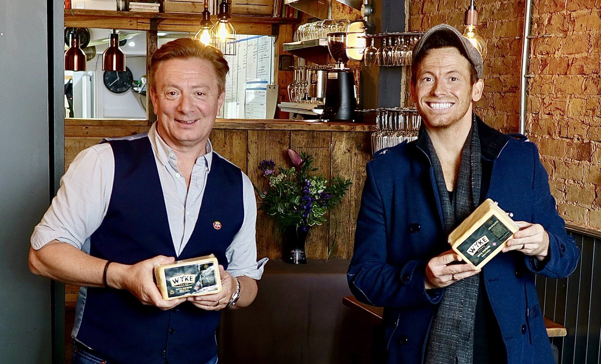 If you want to catch up with the cheeses I talked about today @loosewomen with @realjoeswash  The awesome @wykefarms  Ivy Cheddar- Worlds most awarded cheddar cheese for taste..contact direct for delivery.  For my Artisan Farm @morrisons north west 👌🏼 https://t.co/mwlBMWL6yq