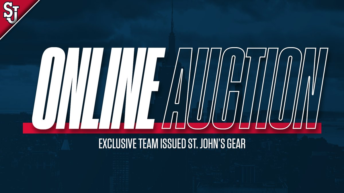 Labor Day Sale! Enjoy the day by visiting our Online Auction ⬇️ 🔗 redstormsports.com/auctions/ #WeAreNewYorksTeam