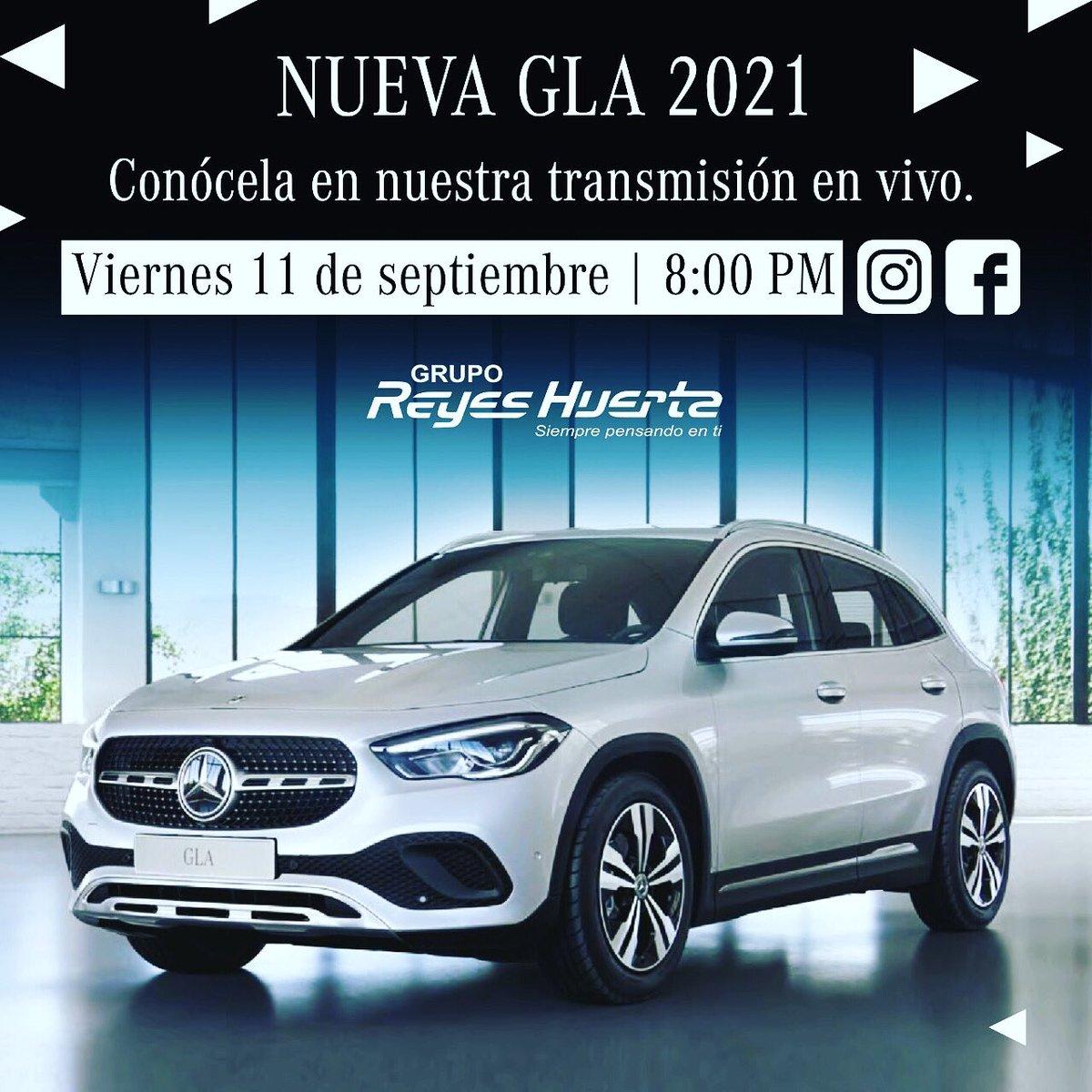 Súmate a nuestro lanzamiento digital de la nueva #GLA2021 este viernes 11 de Septiembre a las 8:00 PM en nuestras cuentas de Instagram y Facebook.  Informa: https://t.co/B154zMfvZ4  WhatsApp:  Mercedes-Benz Serdán: 22 27 98 44 00  Mercedes-Benz Angelópolis: 22 21 30 88 88 https://t.co/faJ0PWgQI1