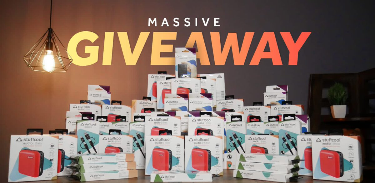 There you go guys As promised, this time, the #stufflistingsarmy has a chance to win big I'm giving away 50 of these cool @Stuffcool products Rules 1. Follow @Stuffcool 2. Subscribe to our Youtube channel 3. Retweet this tweet using the hashtags #stufflistingsarmy and #stuffcool https://t.co/r4dZXWkiby