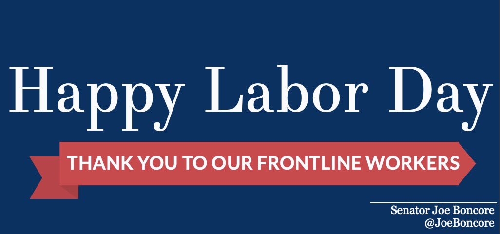 This Labor Day, we offer our deep gratitude to frontline workers. From healthcare workers to grocery clerks and MBTA employees, we appreciate the workers across Massachusetts who have been at the frontlines throughout the worst of the COVID-19 pandemic. https://t.co/Gg1nIvE4Ts