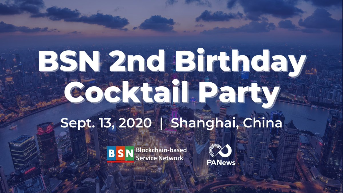 Happy 2nd birthday @bsnbase👏. Thank you for inviting #PCHAIN to this event, @jeff_fengcao will attend and represent $PI.