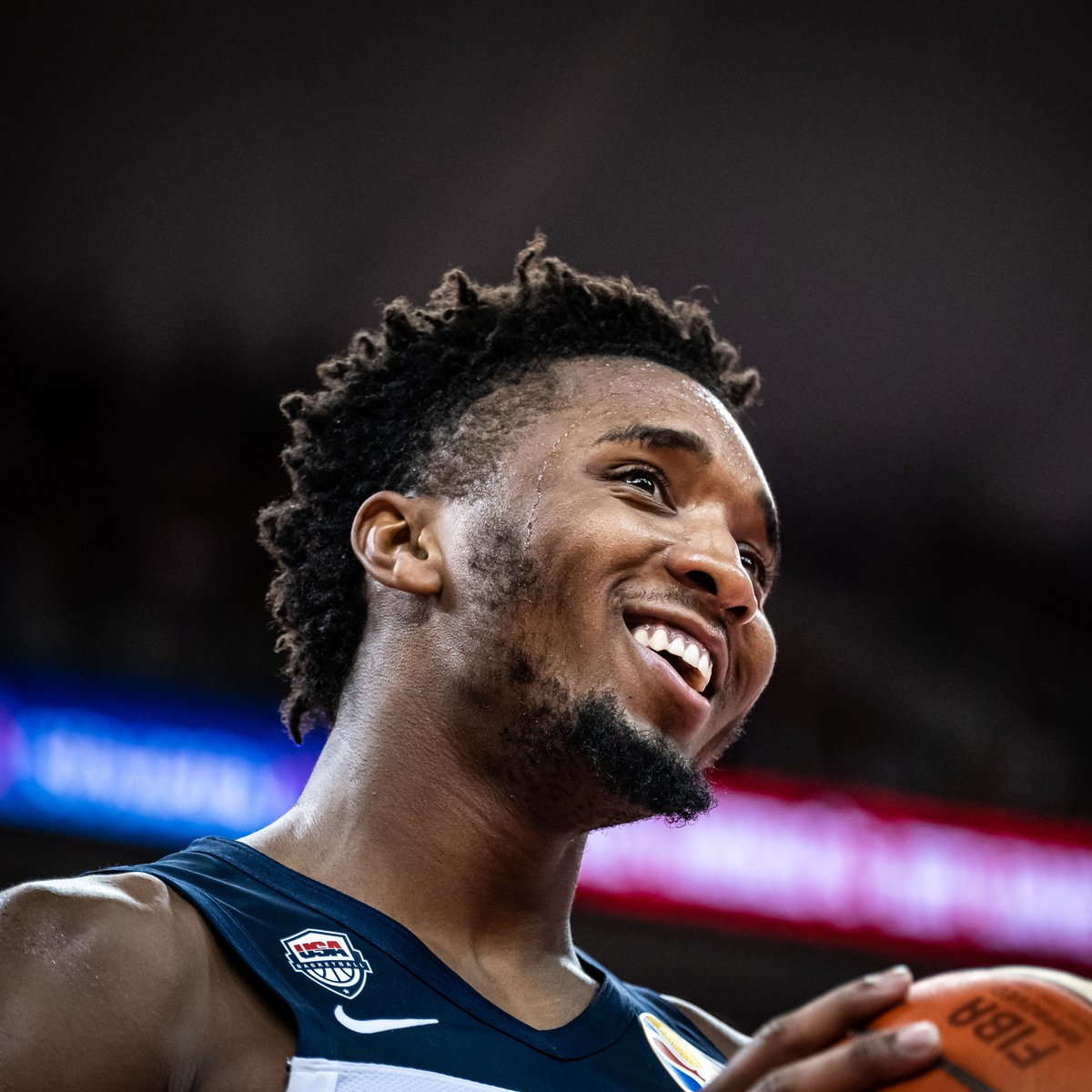Future go-to guy for @USABasketball 🇺🇸? 🕷 @SpidaDMitchell turns 2⃣4⃣ today 🎂