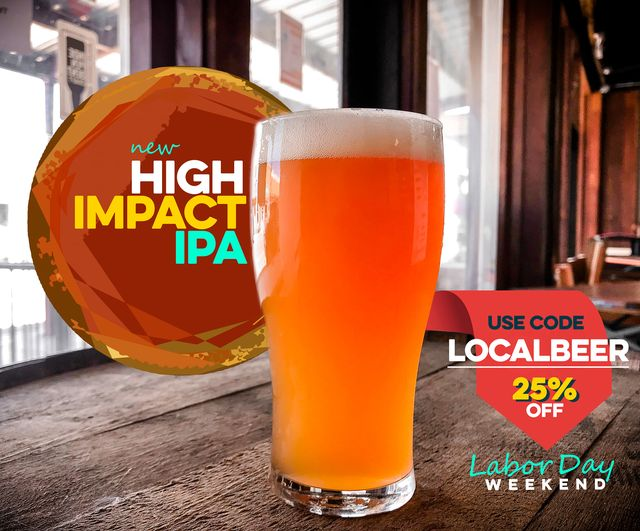NEIPAs are lush and tropical and soft, and Northwest IPAs are crisp and grapefruity/piney... put them together and you get our new IPA, HIGH IMPACT (7.2% ABV, 83 IBU).  #nmbeer #CraftBeer #SeekTheSeal https://t.co/TcmZELTUwM
