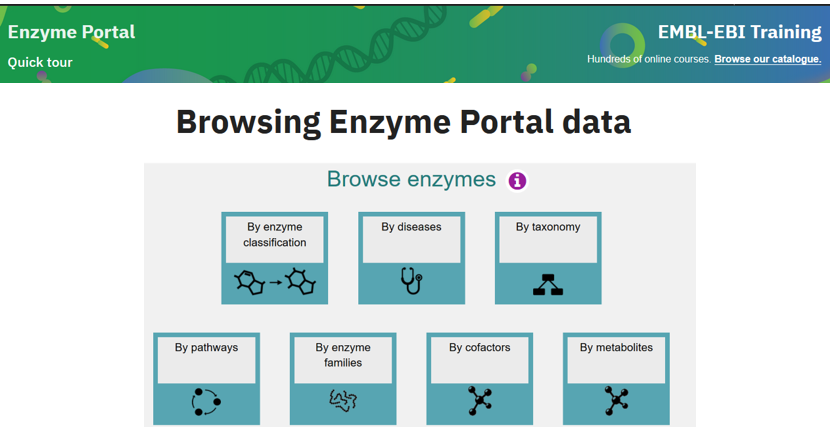 The revised @enzymeportal online training course is now available on the new @EBItraining platform  https://t.co/SDRPlkWe6c  Please feedback and let us know if you found it useful https://t.co/Ma3EXnHUTR