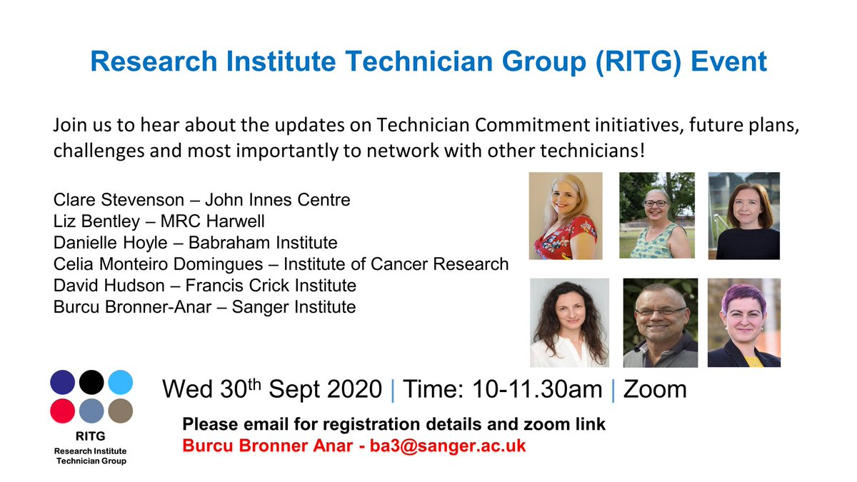 We had fantastic time  @TechnicianGroup event this morning. This was a great start to share our experiences and network. We had 90 attendees, extending beyond our collaboration @sangerinstitute @BabrahamInst @MRCHarwell @JohnInnesCentre @Cricks @ICR_London we will be back, thanks