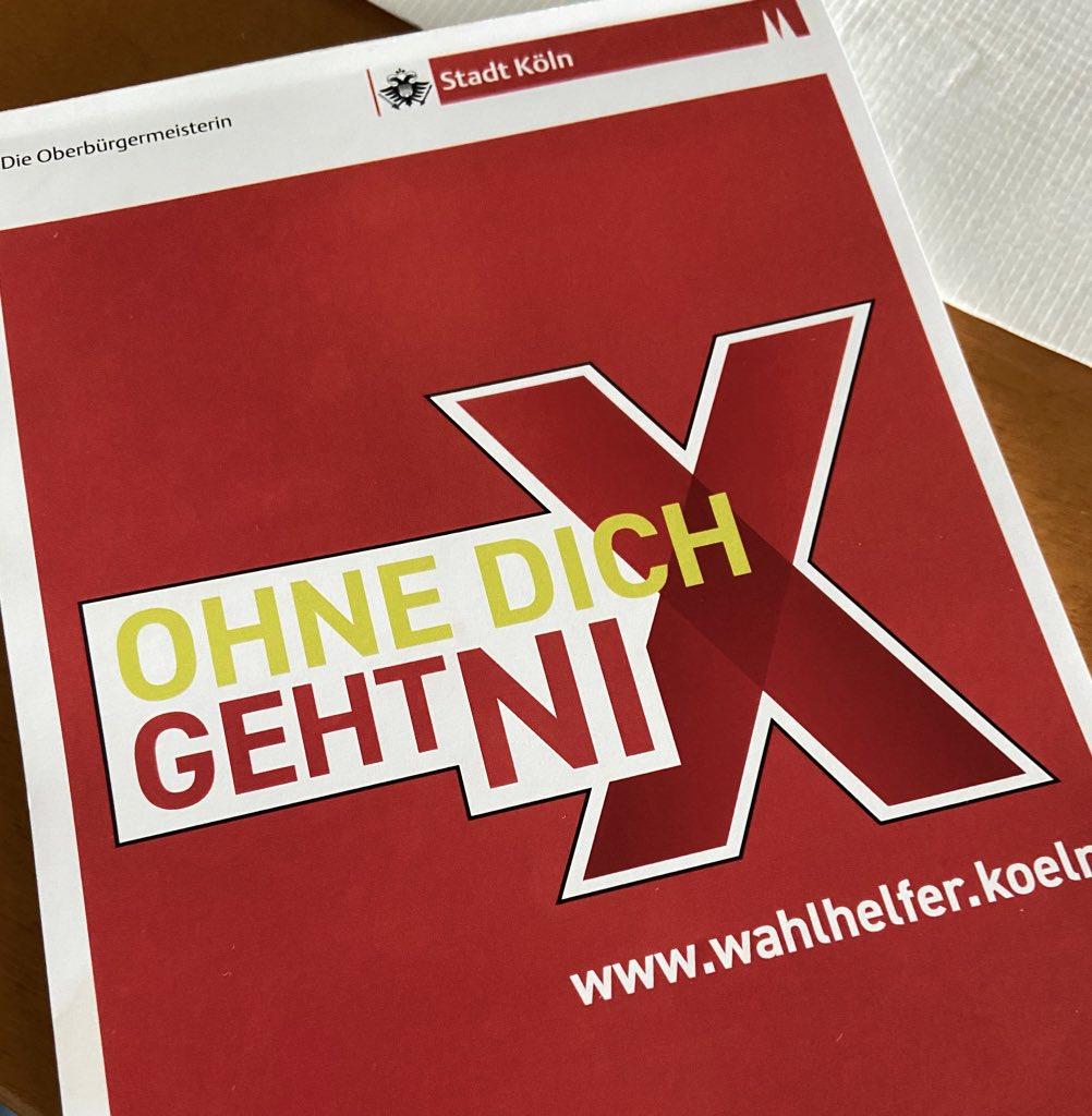 Wahlhelfer Stadt Köln