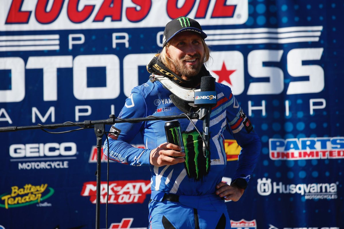 #MX/US – 4 septembre 2020 #Buchanan-Michigan 🇺🇸 (4/9) : @justinbarcia (#YZ450F) s'accroche au podium ! https://t.co/JXUcL0FBHE https://t.co/dKg1ZdESdG