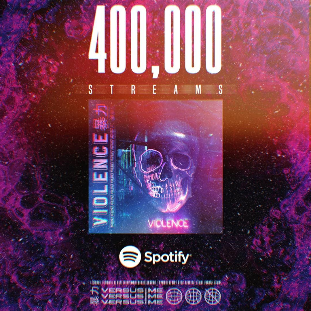 Just hit 400k streams!! Are fastest growing song yet!🔥🔥🔥@VSMEband