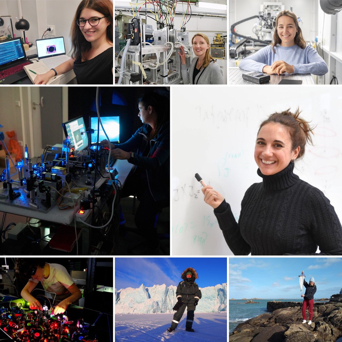 Last week I highlighted the 💯th #womaninphysics / #physikerin for my DPG initiative #physikerinderwoche 🥳 - An initiative to increase the visibility of #womeninphysics in 🇩🇪 - Feel free to participate! Here are all current profiles @physikerinnen or https://t.co/VapwEKajFx https://t.co/kgSyNjFcKL