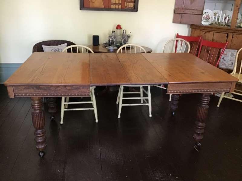 The Millstone On Twitter For Sale Antique Oak Dining Table Https T Co 740grjdbje