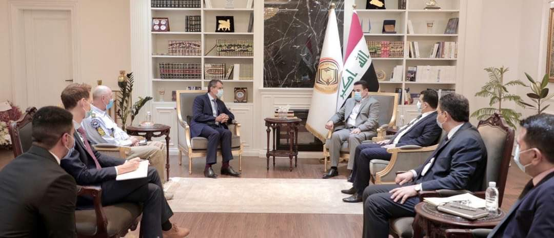 In constructive meeting with new NSA, stressed human-rights related cooperation with the EU's Advisory Mission EUAM, called for investigation and accountability regarding killings and assassinations, and welcomed NSA Qassim Araji's commitment to the state's monopoly of force. https://t.co/KTTySWM3k7