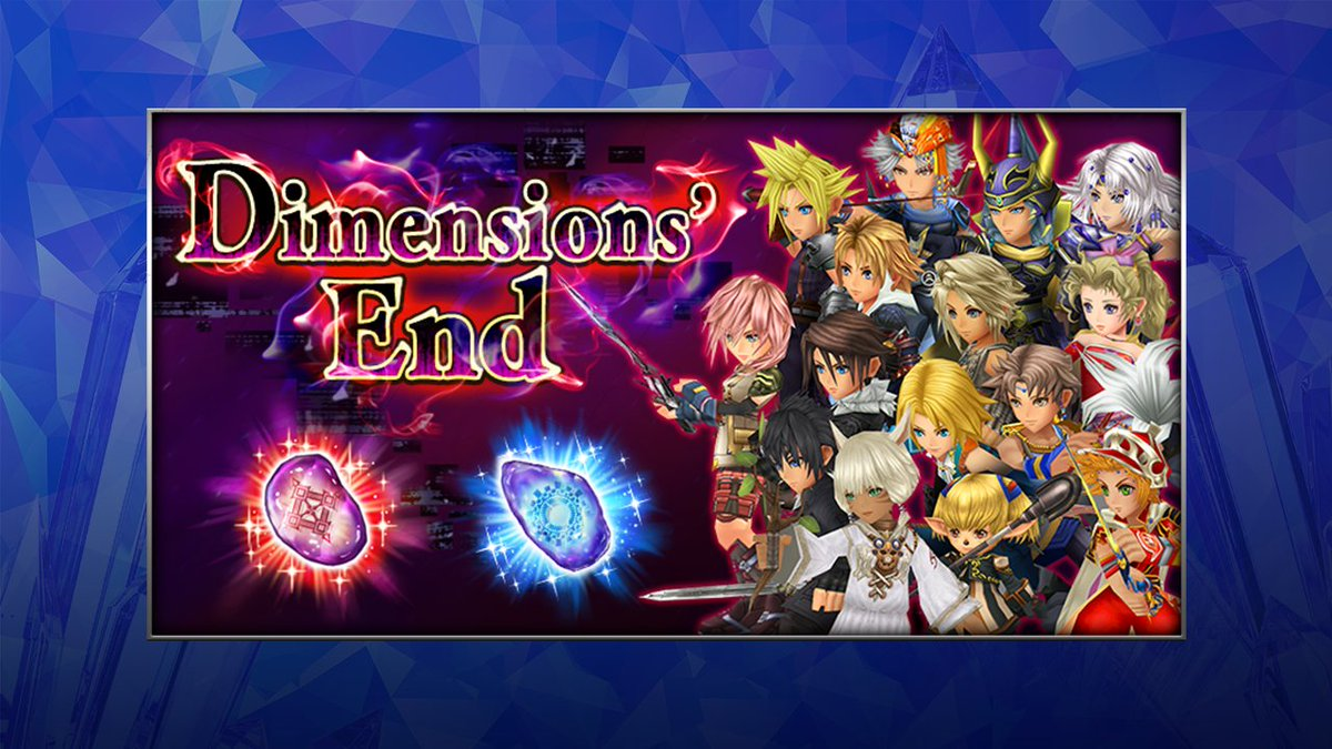Dimensions' End: Entropy Tier 15 is now available in #DissidiaFFOO!  Tier 15 features 2 waves of bosses that are tough against magic attacks, have high SPD and powerful group BRV attacks so make sure to adjust accordingly!   Complete the challenges for amazing rewards! https://t.co/LosdfawpL7