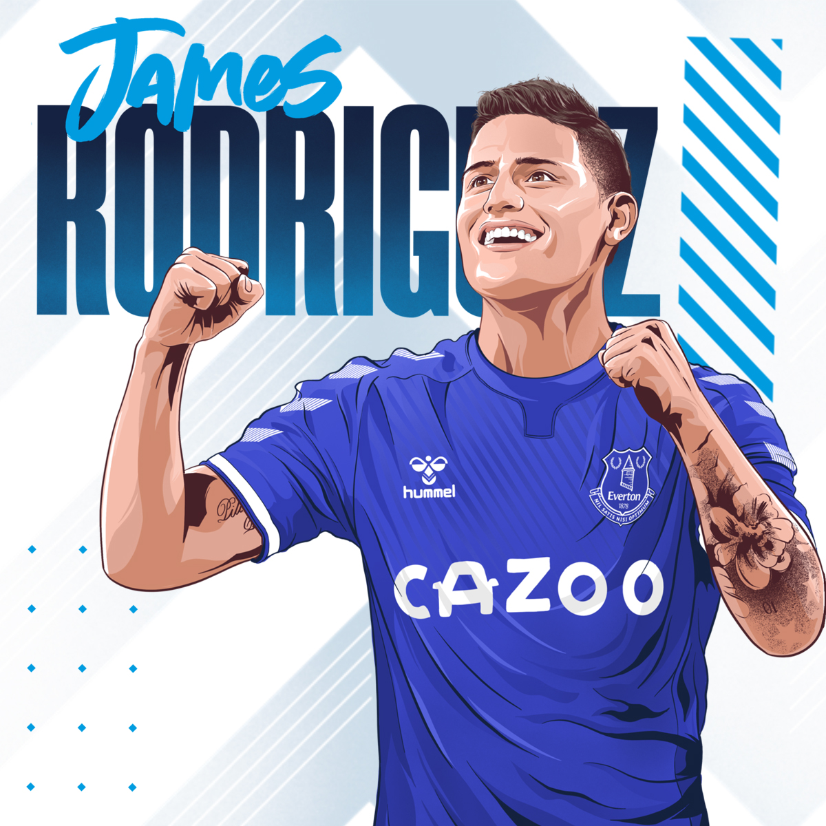 Everton confirm signing of James Rodríguez from Real Madrid for £22.4m |  Football | The Guardian