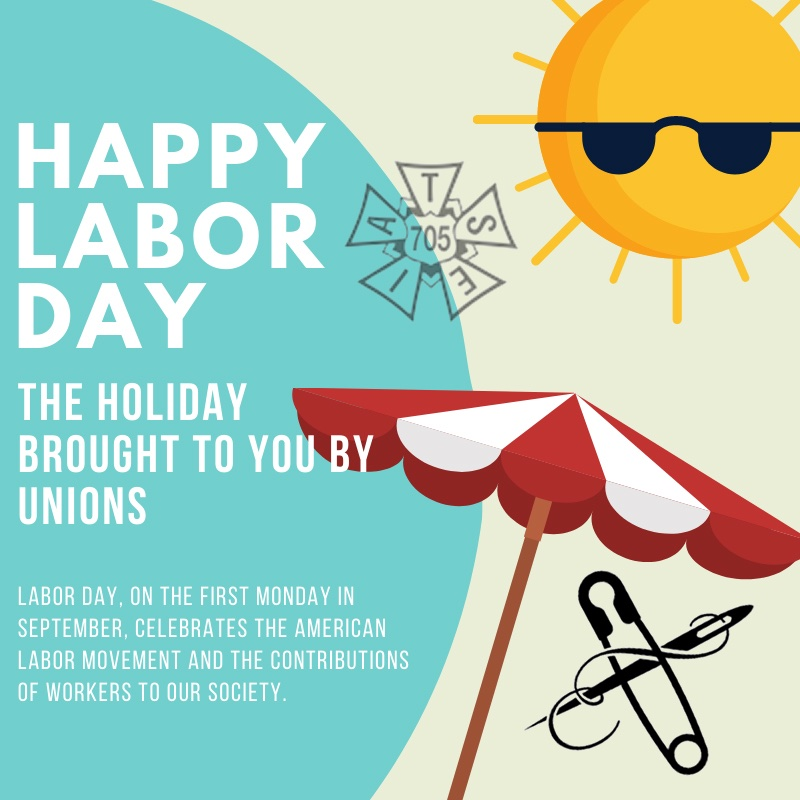Happy Labor Day! A Holiday brought to you by Labor Unions. The 2nd photo is of the first Labor Day, celebrated September 5th, 1882, in New York City. #unionproud #HappyLaborDay