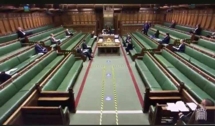 How many MPs could be bothered to turn up for cladding?