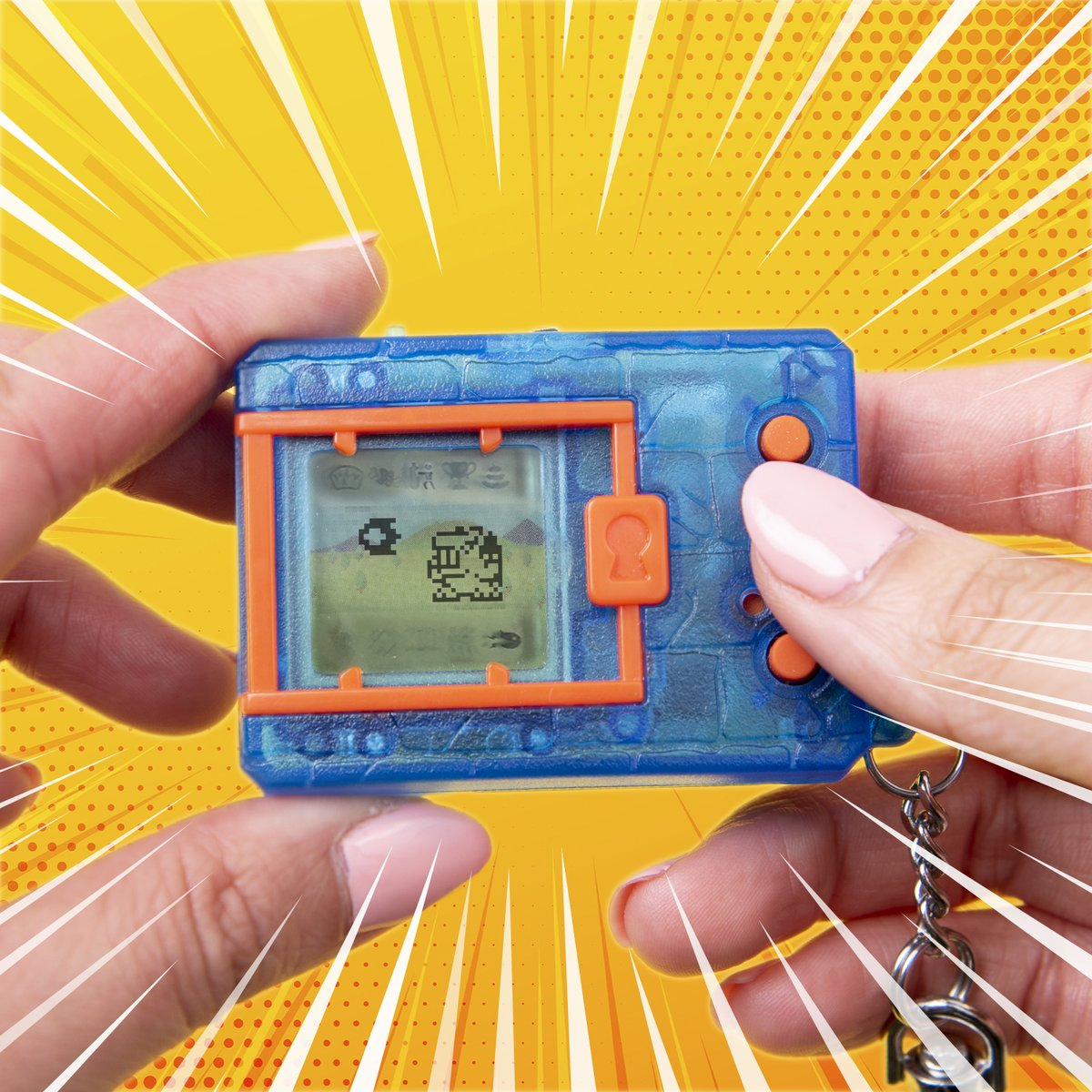 The long weekend means you'll have more time to feed & train your Digimon!  #Digimon #Bandai #BandaiAmerica #Battle #Virtualpet #Digitalmonster #90s #デジモン https://t.co/KbQ1ChTfWc