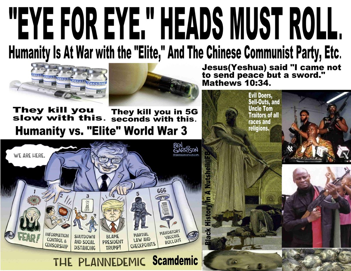 World War 3 has started and World War 3 is between Humanity and Bill Gates and the Illuminati Elites who are for world depopulation. Be ready to fight!