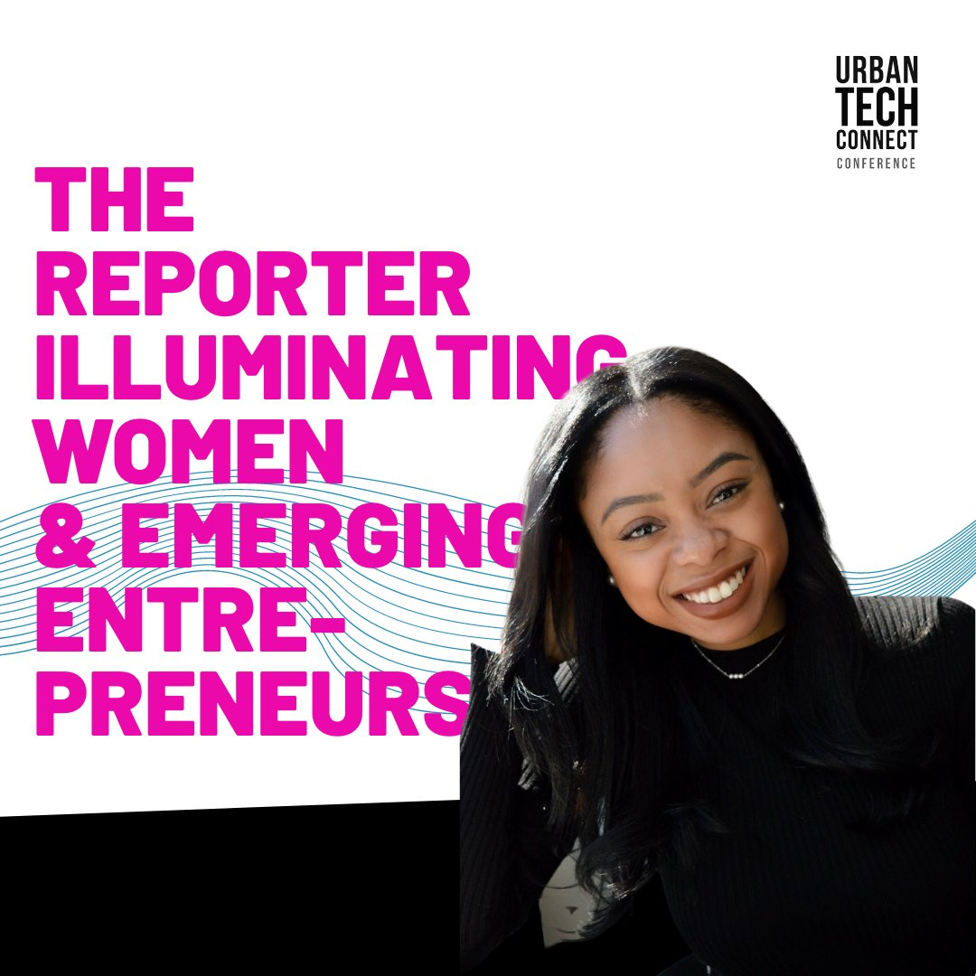 Brianne Garrett is a reporter at @Forbes covering budding entrepreneurs of color, women, and leadership—and, when she can, food. ⁠ We are happy to welcome Brianne to the #UrbanTechConnect conference as a moderator.⁠ To learn more about Brianne visit l8r.it/BokE