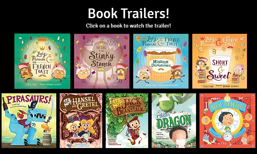 One of my favorite things about the promotional stage of being a picture book author is making musical book trailers.  And you can stream them all right here: https://t.co/ZTuKNnjBJ1 #Kidlit #BookTrailers #Trailers #PictureBooks https://t.co/hx1e2PFMRi