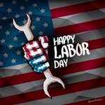 Image for the Tweet beginning: Happy Labor Day everyone! We