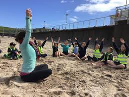 'Yoga on the beach' We have been successful in our application for funding through the 'Making Life Better through COVID 19 Short Term Funding Programme' Eight classes for 6 weeks🌸@IEFNI @Eco_SchoolsNI @bbceducation @ColeraineChron @OutdoorClassDay @Yoga_Journal https://t.co/87mZ6ZNrBe