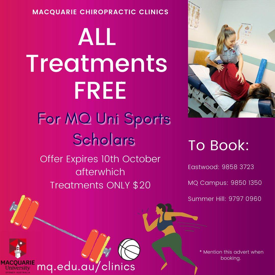Macquarie Uni Chiropractic Macunichiro Twitter