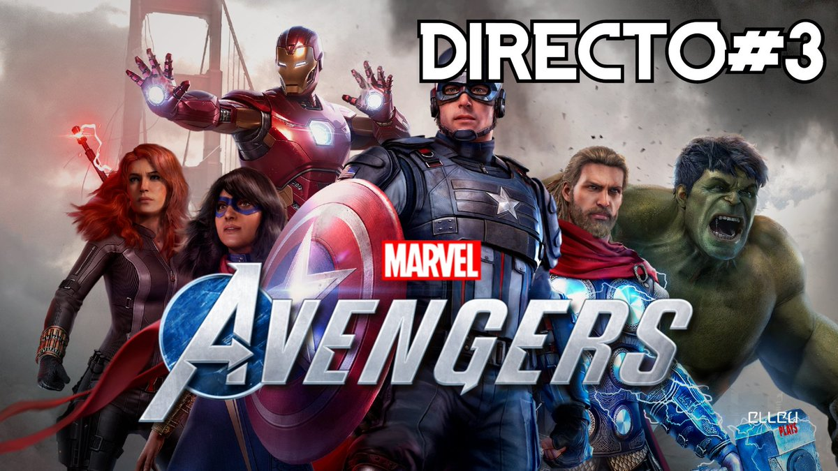 ⚠️Hoy 10 Pm. Marvel's Avengers #3 / XBox One S - Directo SOLO por Youtube ⚠️  Youtube!  https://t.co/FbQxopXQvD  #elleu #marvelsavengers  #xboxones #yaestapagado #gameplay #gameplays #elleuplays #instagamer #streamer #mexico https://t.co/Op4NOHiYLZ