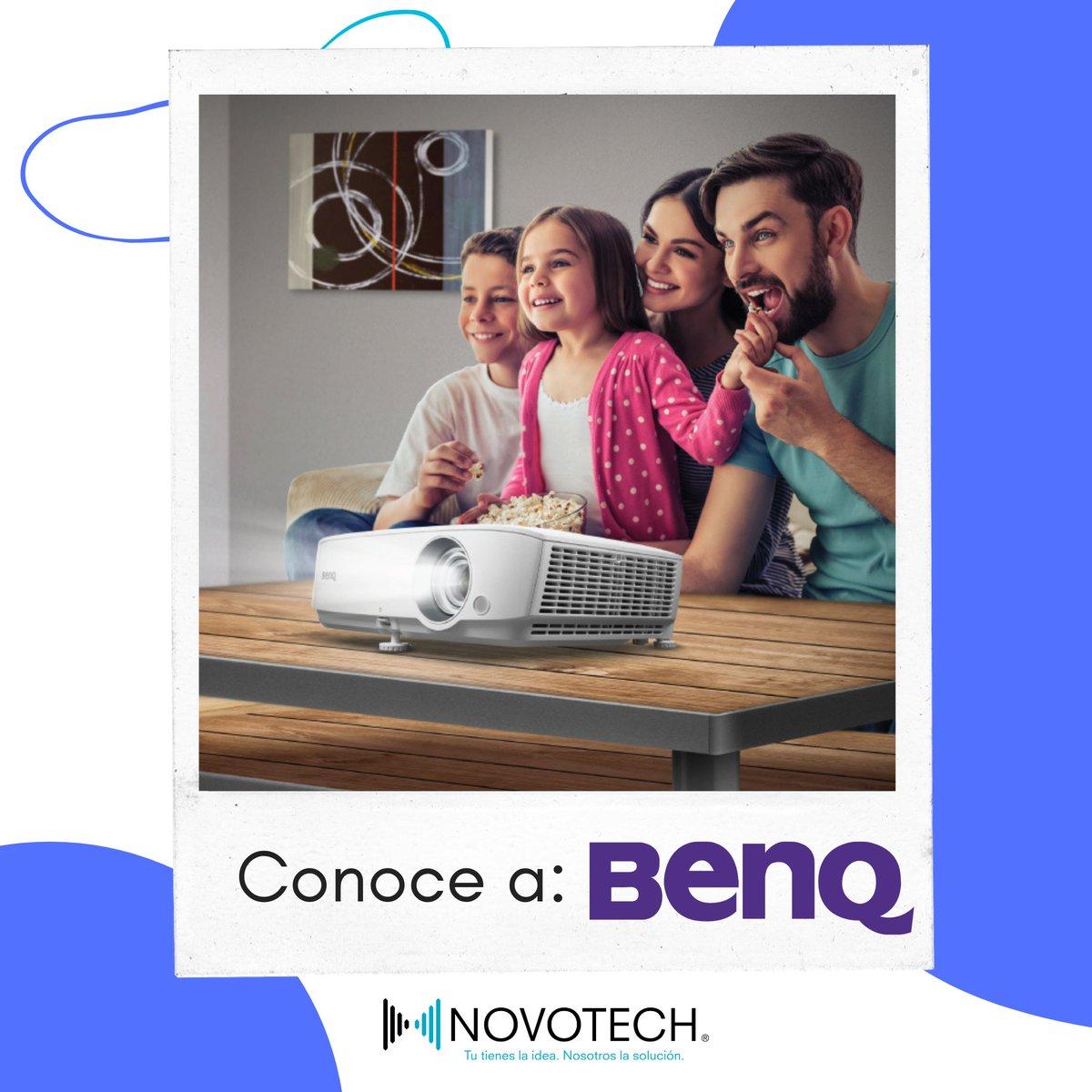 Conoce a nuestro socio @BenQ_Mexico, podrás conseguir sus proyectores, pantallas y pizarras interactivas en @NovotechMX   #marcadelasemana https://t.co/XBHzWjgtMb