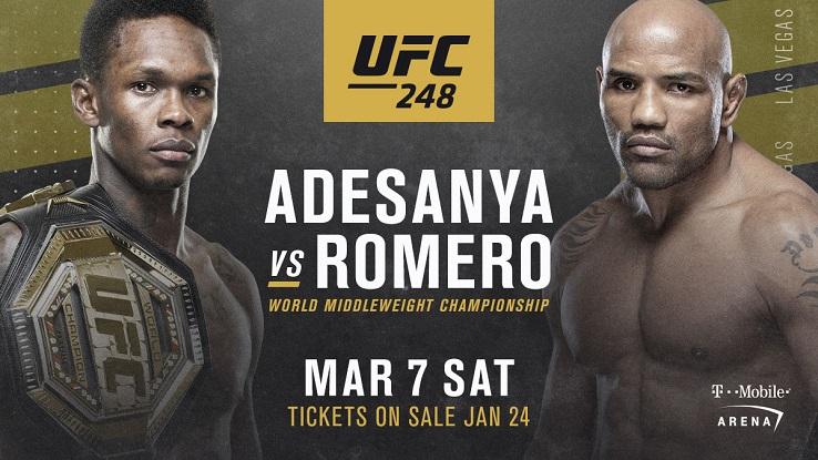 #UFC248 UFC 248   UFC 248: Adesanya vs. Romero  #Adesanya vs #Romero #UFCLasVegas #UFC #UFC248 #UFC248Live #MMA #UFC248LiveStream #UFC248Stream #ufc254live_free #AdesanyavRomero #AdesanyaRomero https://t.co/RUx8VLC0u2