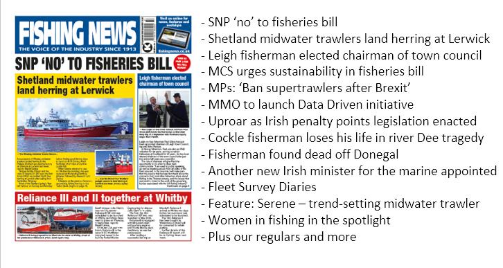 This week's Fishing News: https://t.co/vIM7FExmHt #fishermen #fishingnews #commercialfishing https://t.co/LRJkBUeTdB