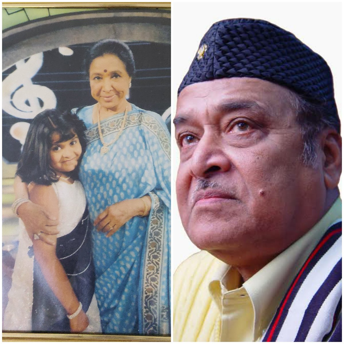 Two legends were born on this auspicious day. I consider myself blessed to have had the opportunity to meet and learn from Asha Tai. Although my dream of meeting Late Padmashree Bhupen Hazarika Daangoriya remained a dream. Wishing both the legends a very happy birthday ♥️