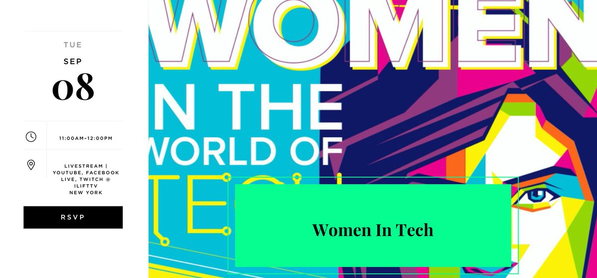 Hi Ladies,  We're still seeking speakers  Women in VC, Business,Tech  Tue, Sep 8, 11am EST, 6pm BST  Last Episode so let's go out with a bang 🎉 https://t.co/90XebZyvVW https://t.co/8CPQjYmVq8 https://t.co/IR1jUNie8m  lmk if any of you're interested mananas@me.com DM #women #tech https://t.co/6NVk8qcC81