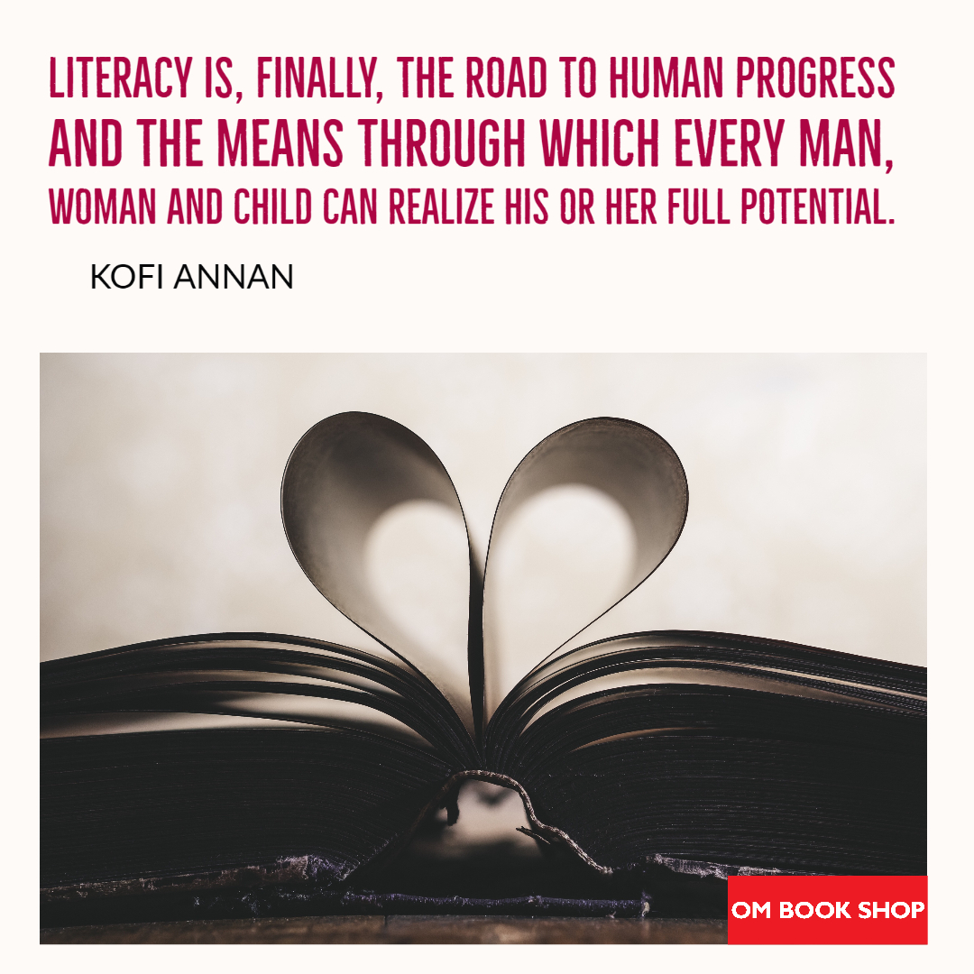 On #WorldLiteracyDay  let's make #readingfundamental Education is the key to build a better, stronger and wiser society. We thank our educators, teachers and educational institutions for their dedication.  #ombookshop #Internationalliteracyday2020 #TuesdayMotivation #books https://t.co/mgScvuvwvv